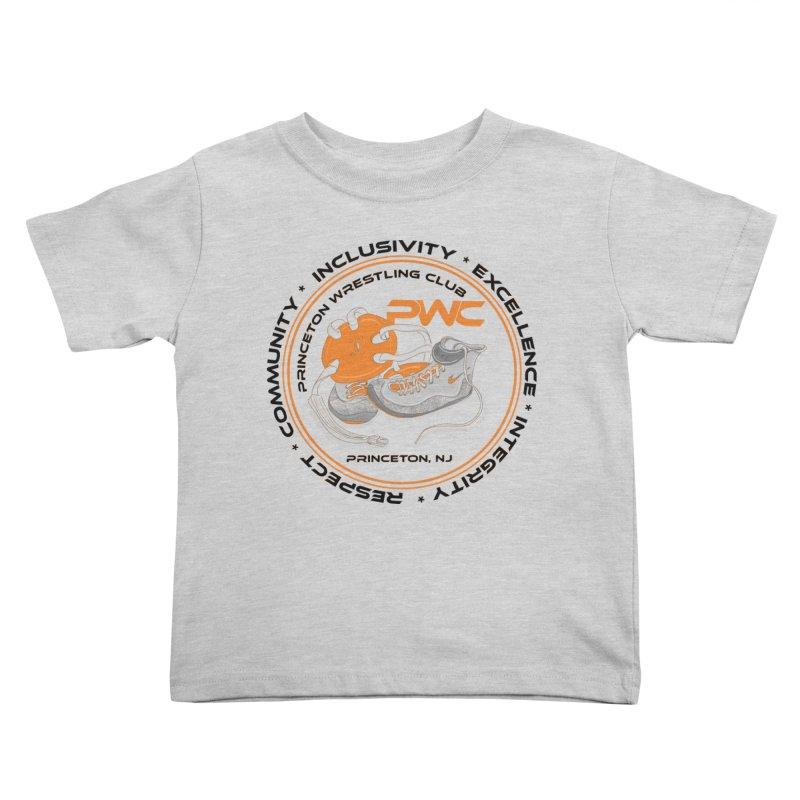 PWC Circle Logo White Shirts  Kids Toddler T-Shirt by PWC's Artist Shop