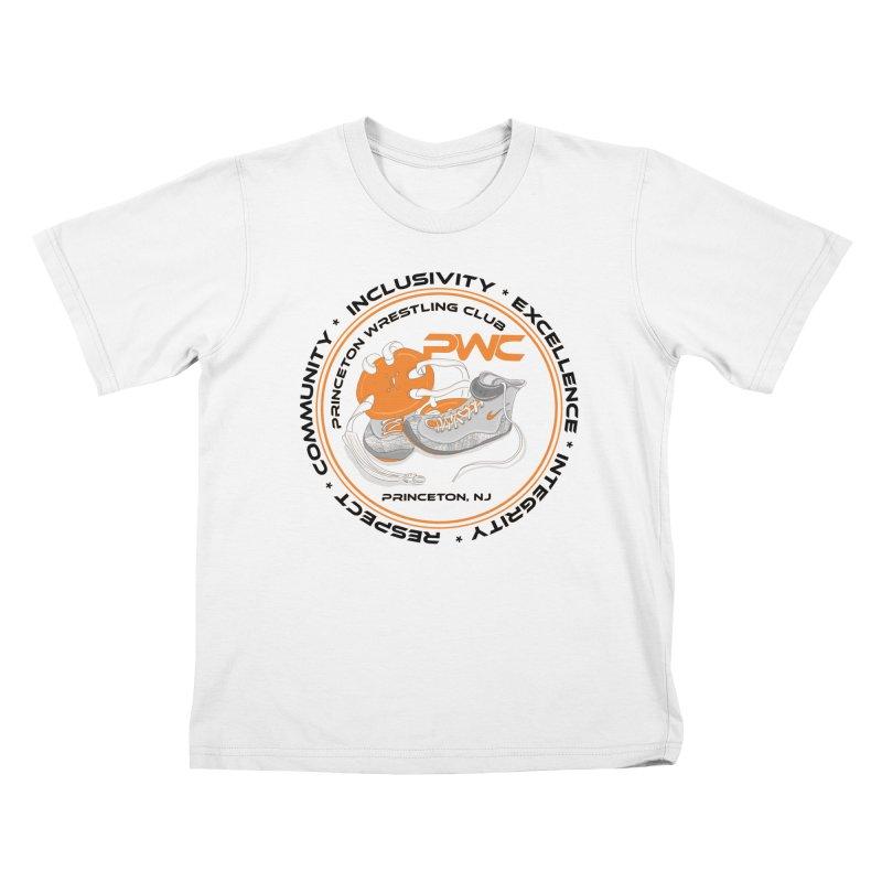 PWC Circle Logo White Shirts  Kids T-Shirt by PWC's Artist Shop