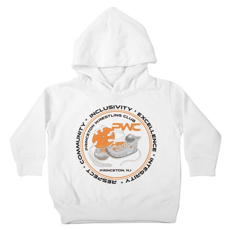 PWC Circle Logo White Shirts  Kids Toddler Pullover Hoody by PWC's Artist Shop