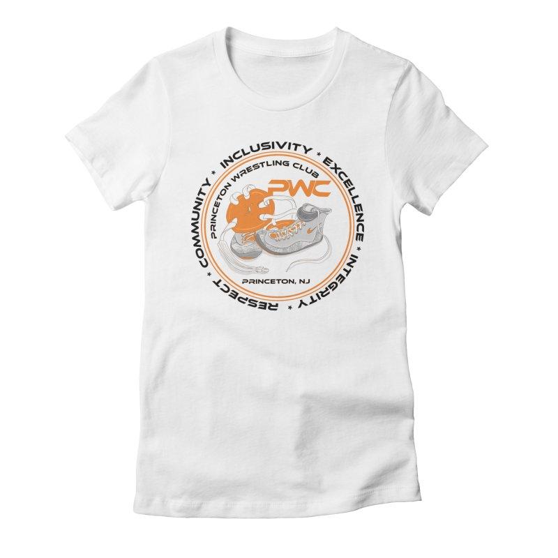 PWC Circle Logo White Shirts  Women's T-Shirt by PWC's Artist Shop