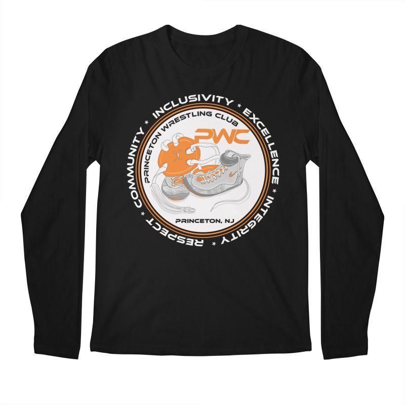 PWC Logo Dark Shirts and Lounge Pants  Men's Regular Longsleeve T-Shirt by PWC's Artist Shop