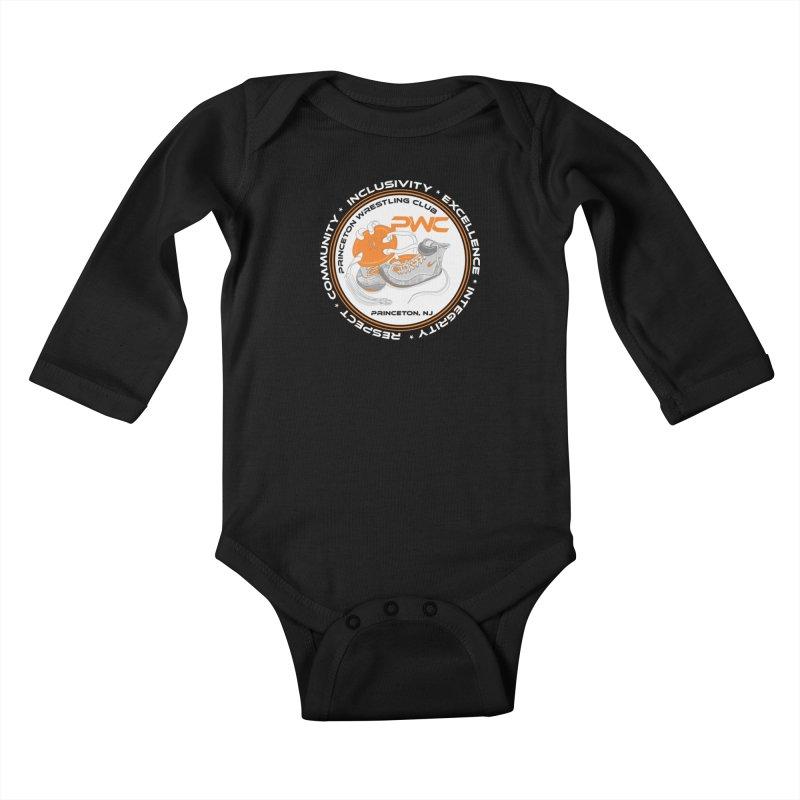 PWC Logo Dark Shirts and Lounge Pants  Kids Baby Longsleeve Bodysuit by PWC's Artist Shop