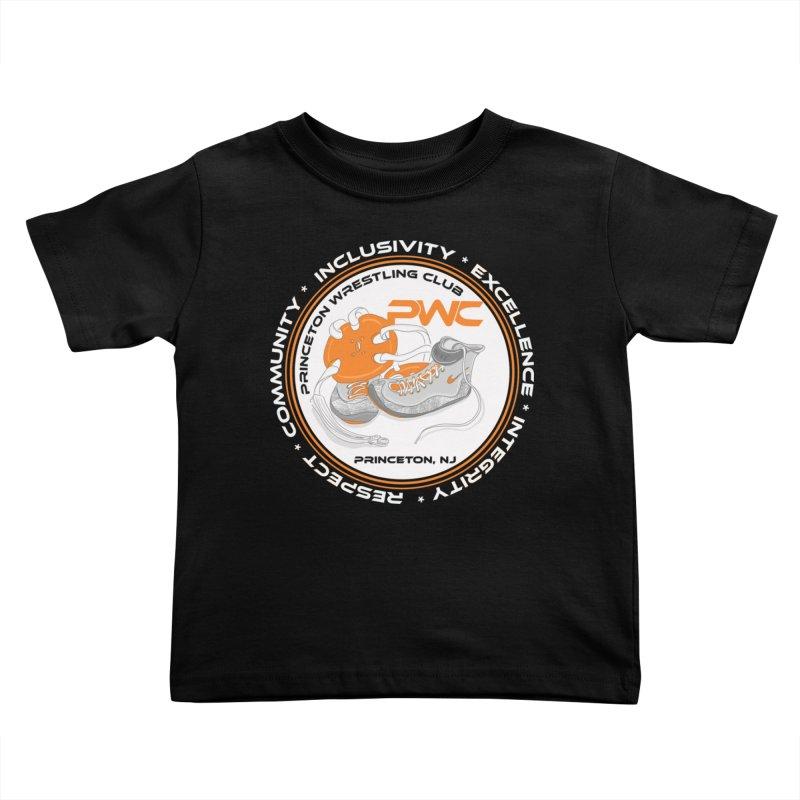 PWC Logo Dark Shirts and Lounge Pants  Kids Toddler T-Shirt by PWC's Artist Shop
