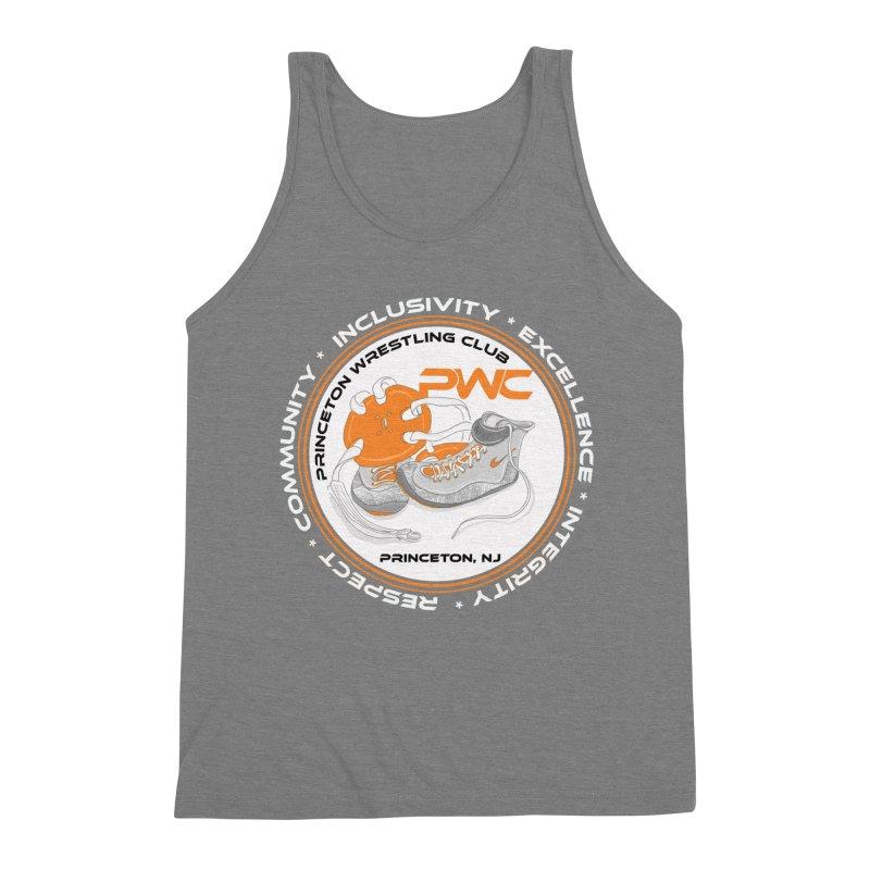 PWC Logo Dark Shirts and Lounge Pants  Men's Triblend Tank by PWC's Artist Shop