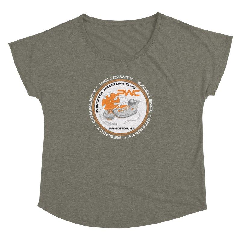 PWC Logo Dark Shirts and Lounge Pants  Women's Dolman Scoop Neck by PWC's Artist Shop