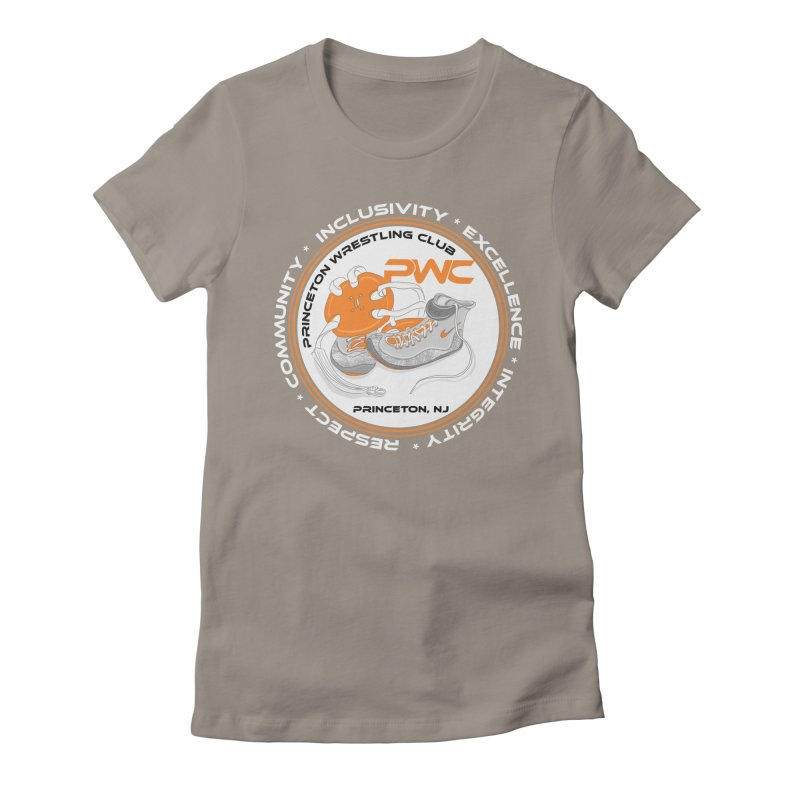 PWC Logo Dark Shirts and Lounge Pants  Women's Fitted T-Shirt by PWC's Artist Shop