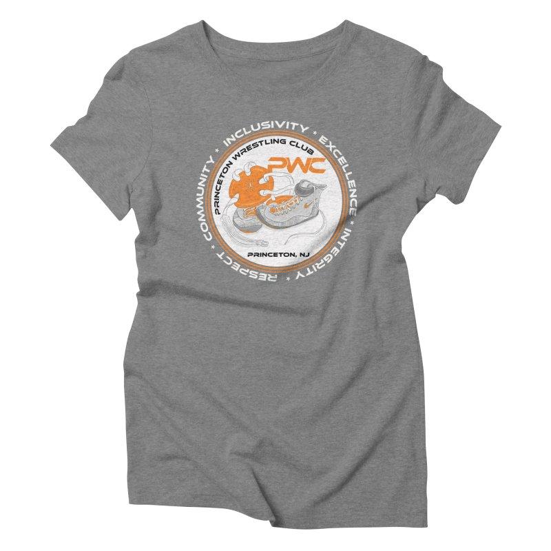 PWC Logo Dark Shirts and Lounge Pants  Women's Triblend T-Shirt by PWC's Artist Shop