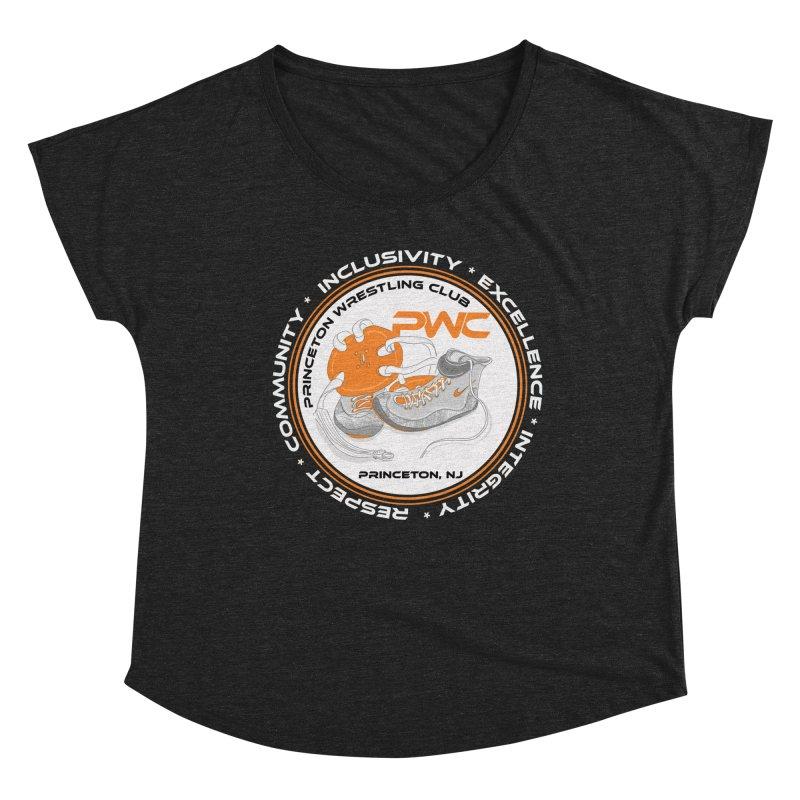 PWC Logo Dark Shirts and Lounge Pants  Women's Scoop Neck by PWC's Artist Shop