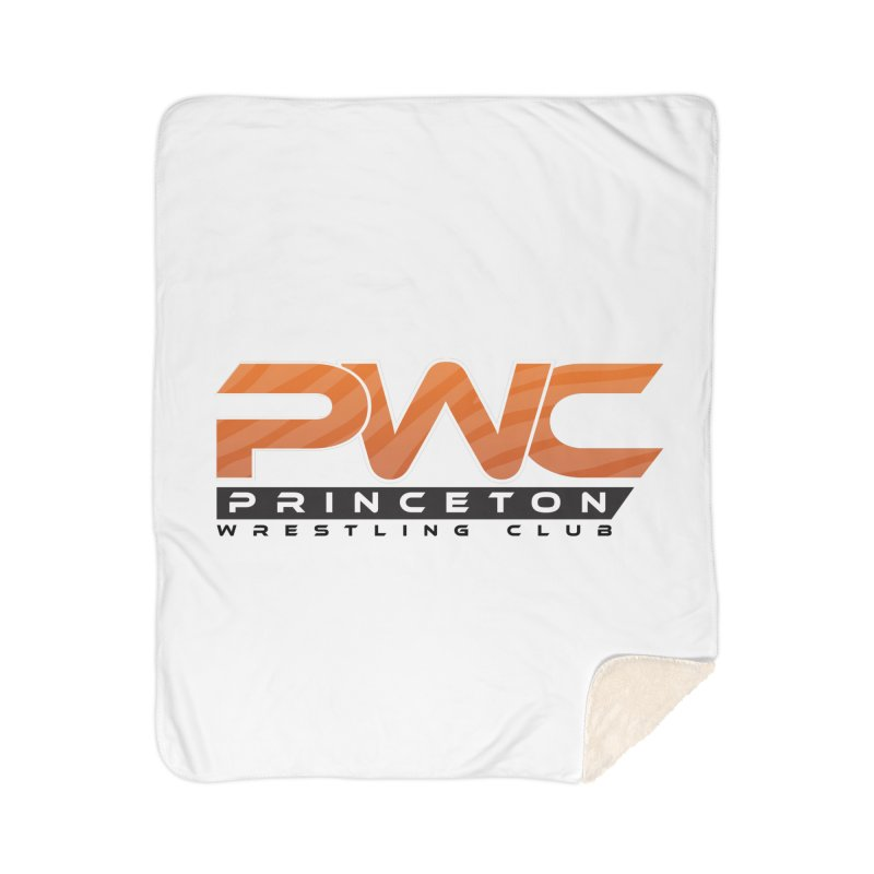 PWC Traditional Logo  Home Sherpa Blanket Blanket by PWC's Artist Shop
