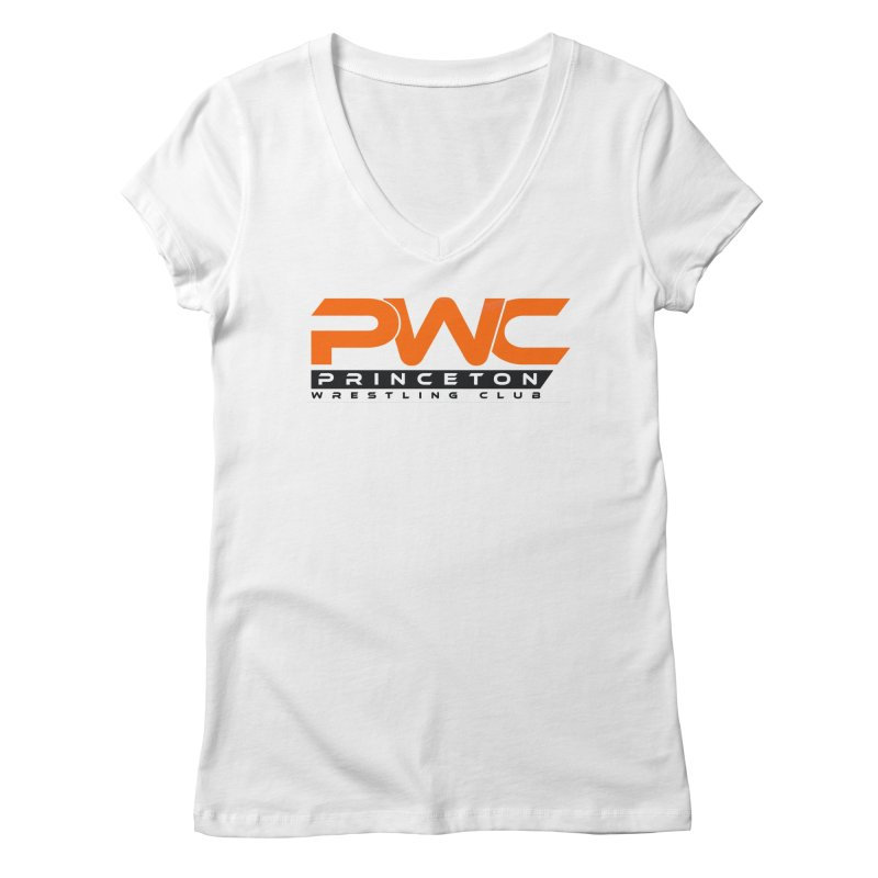 PWC Traditional Logo  Women's Regular V-Neck by PWC's Artist Shop