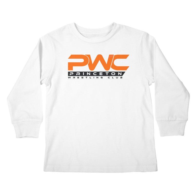 PWC Traditional Logo  Kids Longsleeve T-Shirt by PWC's Artist Shop