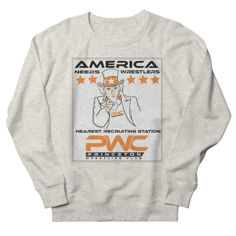 Uncle Sam Logo  Men's Sweatshirt by PWC's Artist Shop