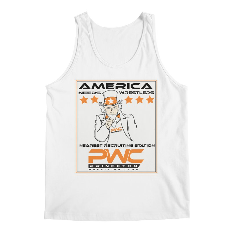 Uncle Sam Logo  Men's Tank by PWC's Artist Shop