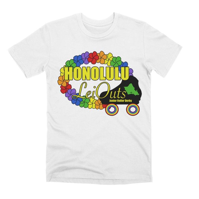 Official LeiOuts Merch (multiple colors) Men's T-Shirt by Pacific Roller Derby's Merchandise Store