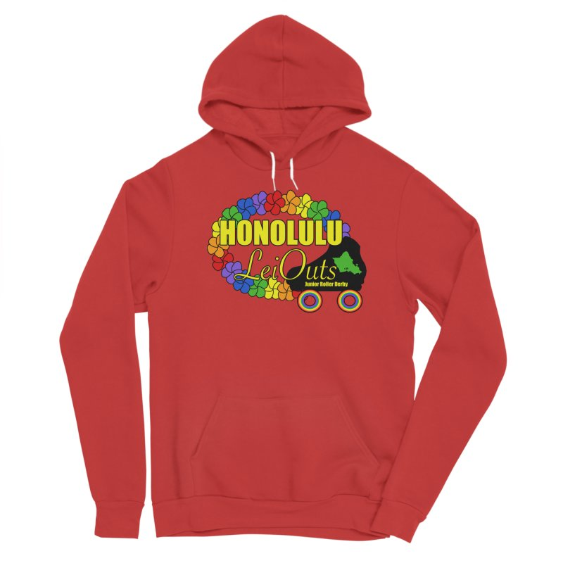 Official LeiOuts Merch (multiple colors) Women's Pullover Hoody by Pacific Roller Derby's Merchandise Store