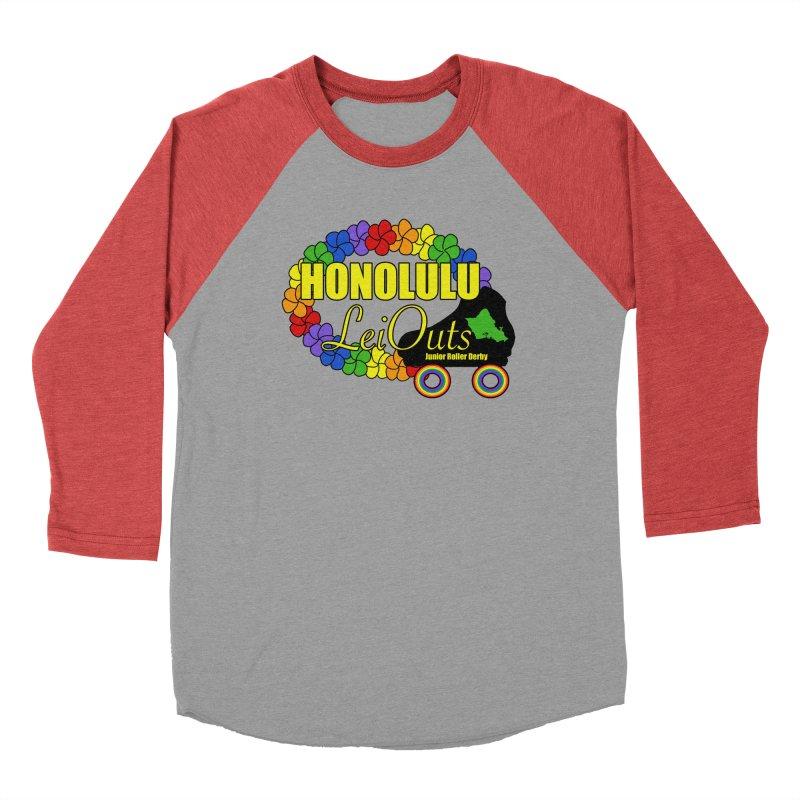 Official LeiOuts Merch (multiple colors) Men's Longsleeve T-Shirt by Pacific Roller Derby's Merchandise Store