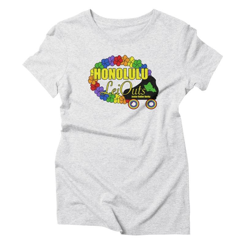 Official LeiOuts Merch (multiple colors) Women's T-Shirt by Pacific Roller Derby's Merchandise Store