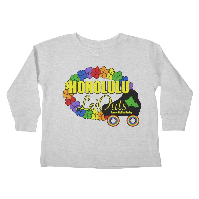 Official LeiOuts Merch (multiple colors) Kids Toddler Longsleeve T-Shirt by Pacific Roller Derby's Merchandise Store