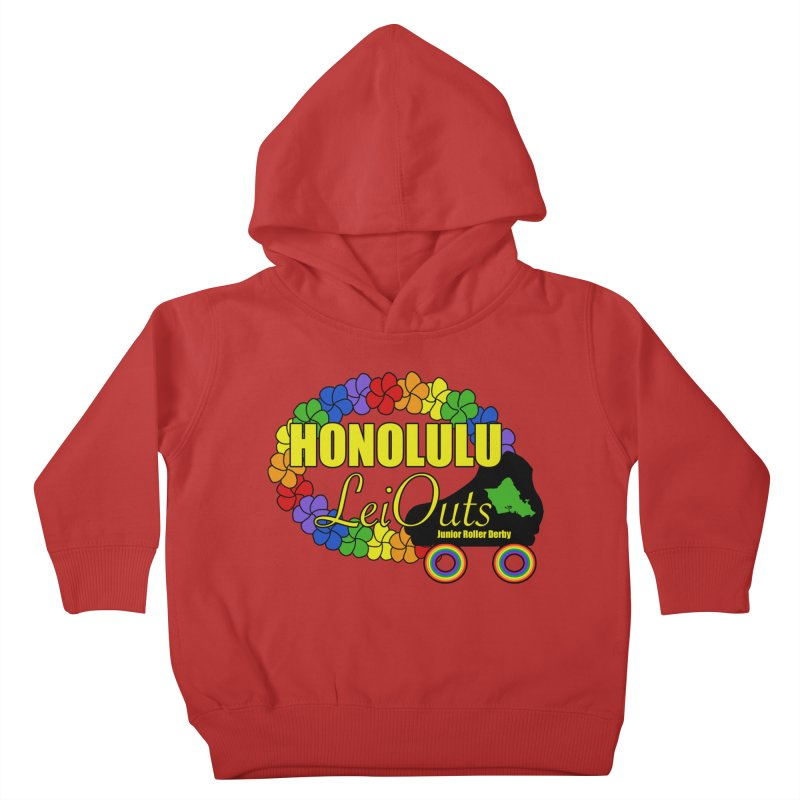 Official LeiOuts Merch (multiple colors) Kids Toddler Pullover Hoody by Pacific Roller Derby's Merchandise Store