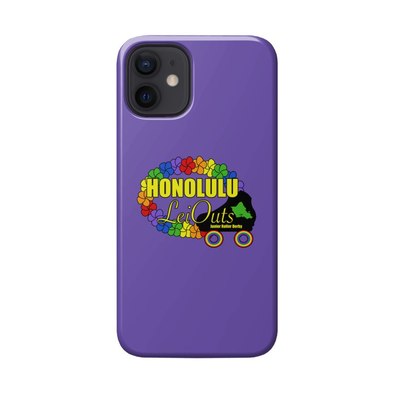 Official LeiOuts Merch (multiple colors) Accessories Phone Case by Pacific Roller Derby's Merchandise Store