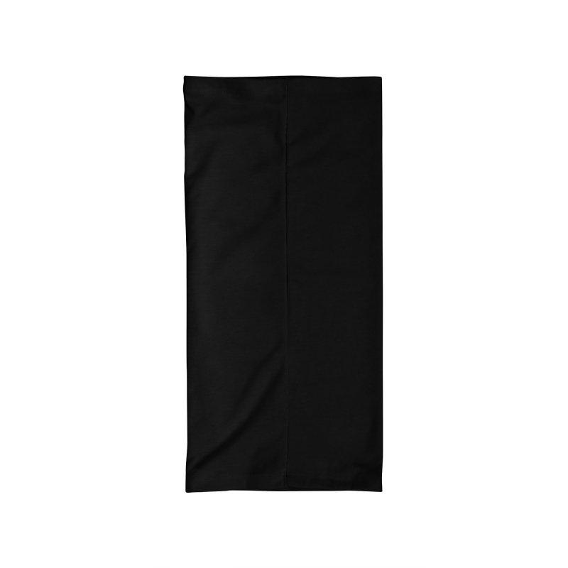PRD Merch (black and dark grey) Accessories Neck Gaiter by Pacific Roller Derby's Merchandise Store