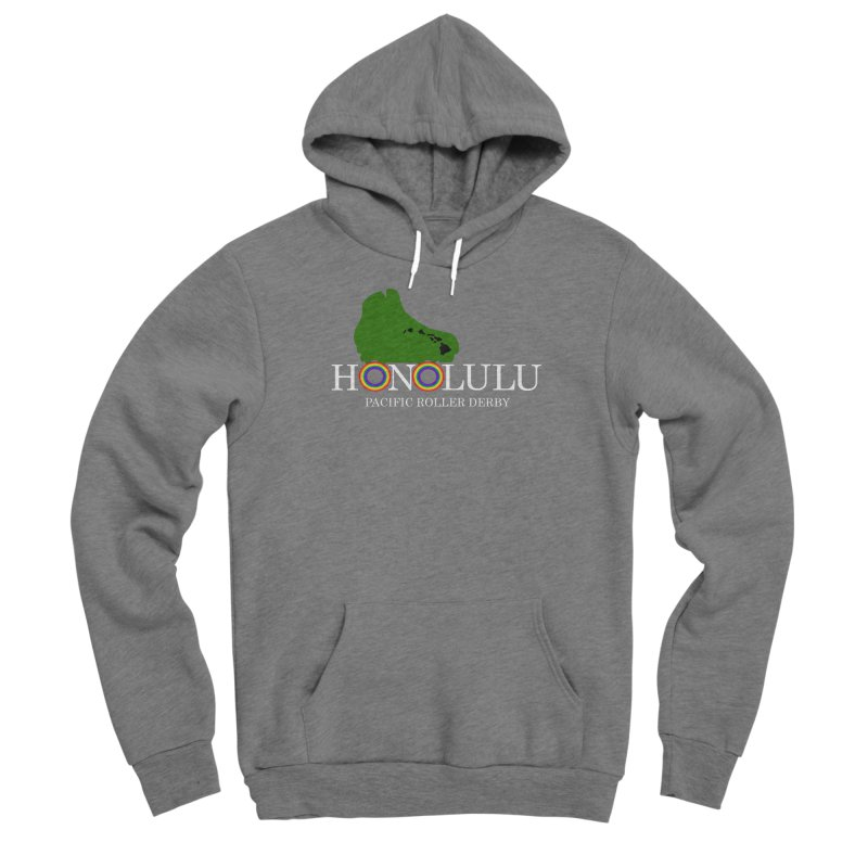 PRD Merch (black and dark grey) Women's Pullover Hoody by Pacific Roller Derby's Merchandise Store