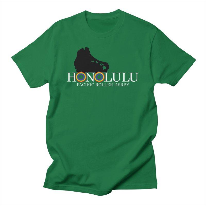 Official PRD Merch (green) Women's T-Shirt by Pacific Roller Derby's Merchandise Store