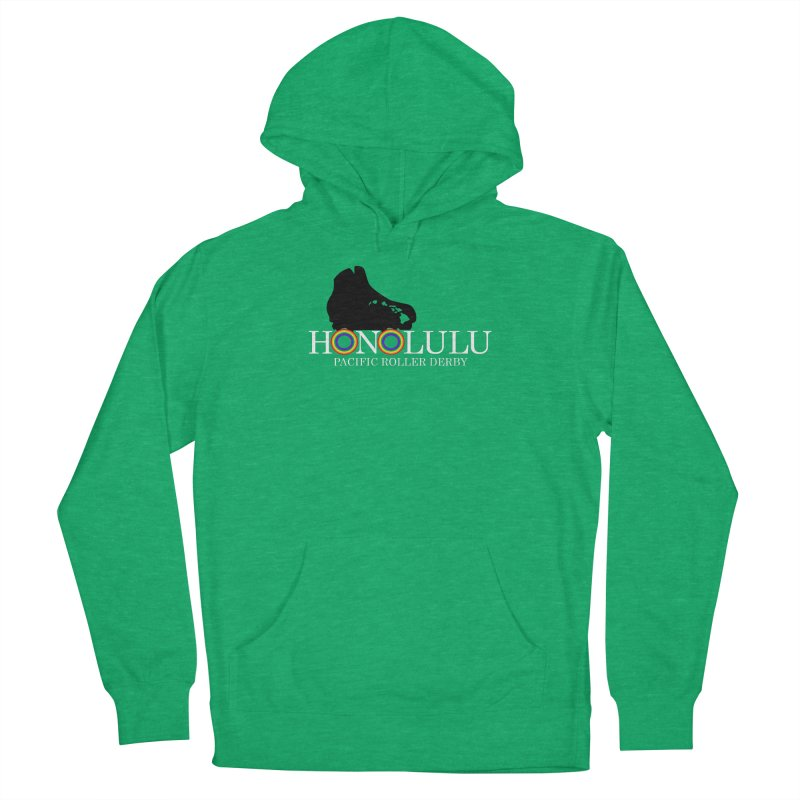 Official PRD Merch (green) Women's Pullover Hoody by Pacific Roller Derby's Merchandise Store