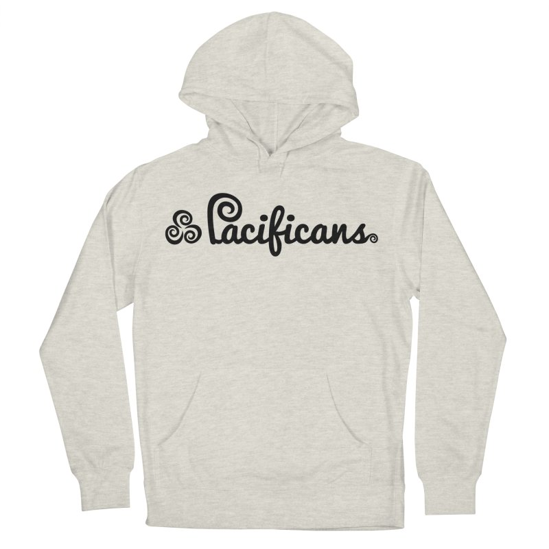 Pacificans logo Women's French Terry Pullover Hoody by Pacificans' Artist Shop