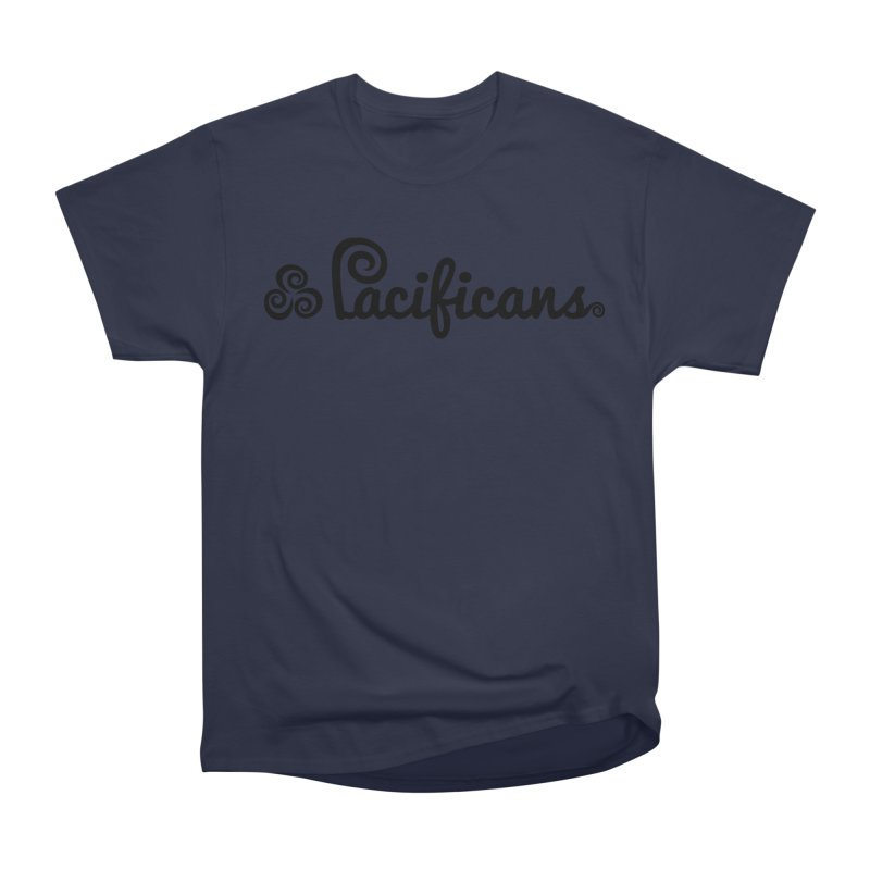 Pacificans logo Women's Heavyweight Unisex T-Shirt by Pacificans' Artist Shop