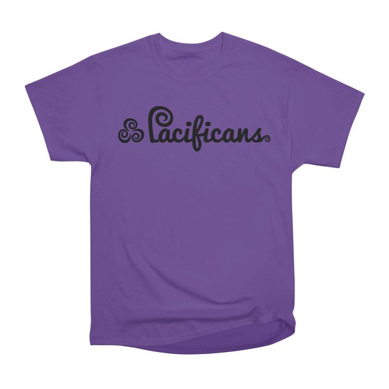 Pacificans logo Women's Heavyweight Unisex T-Shirt by Pacificans' Artist Shop