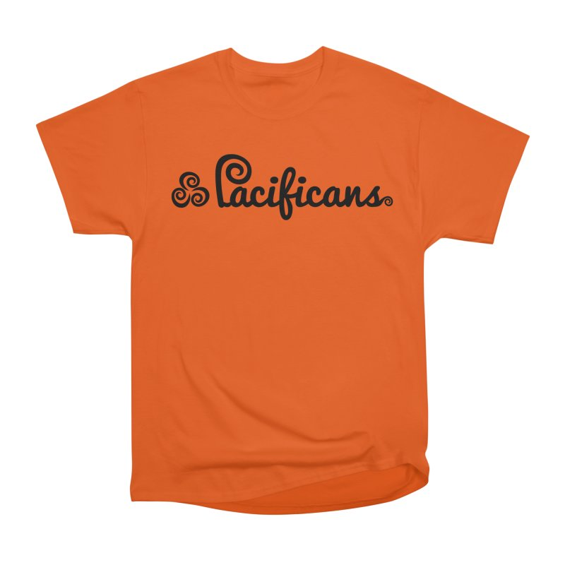 Pacificans logo Men's Heavyweight T-Shirt by Pacificans' Artist Shop