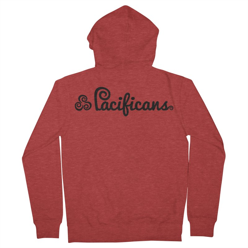 Pacificans logo Women's Zip-Up Hoody by Pacificans' Artist Shop