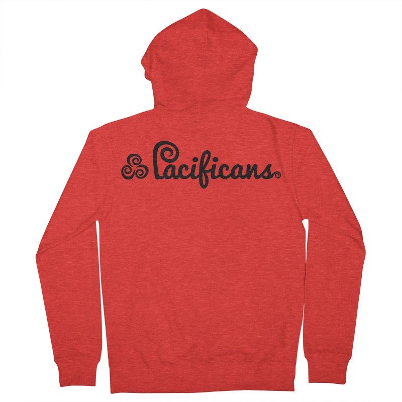 Pacificans logo Men's Zip-Up Hoody by Pacificans' Artist Shop