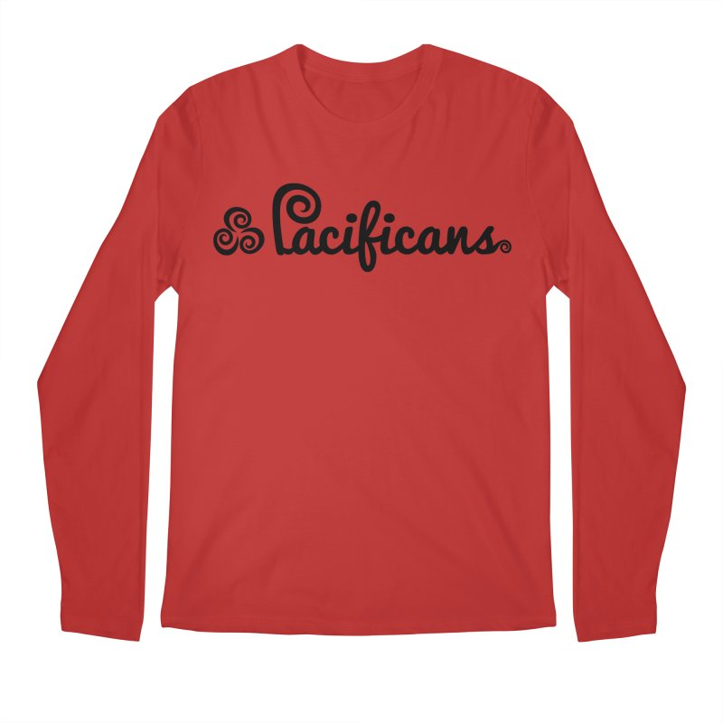 Pacificans logo Men's Regular Longsleeve T-Shirt by Pacificans' Artist Shop