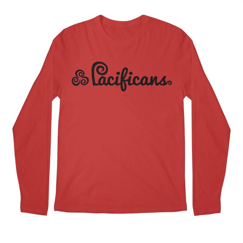Pacificans logo Men's Longsleeve T-Shirt by Pacificans' Artist Shop