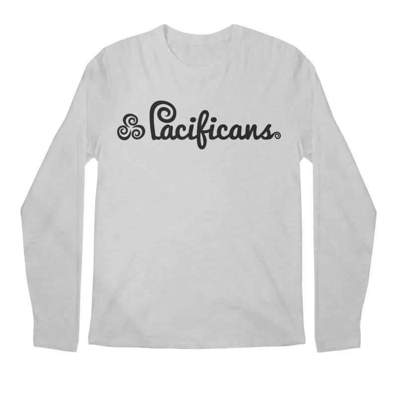 Pacificans logo Men's Regular Longsleeve T-Shirt by Pacificans' Artist Shop