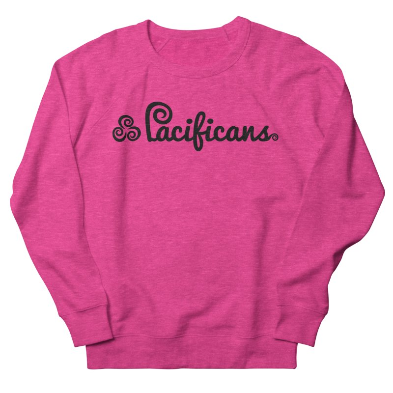 Pacificans logo Men's French Terry Sweatshirt by Pacificans' Artist Shop