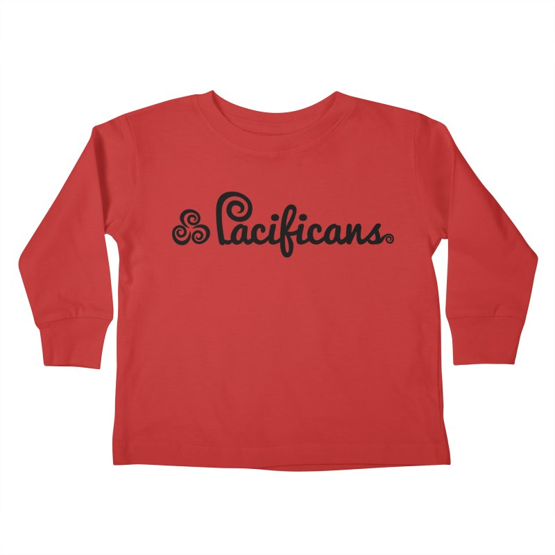 Pacificans logo Kids Toddler Longsleeve T-Shirt by Pacificans' Artist Shop