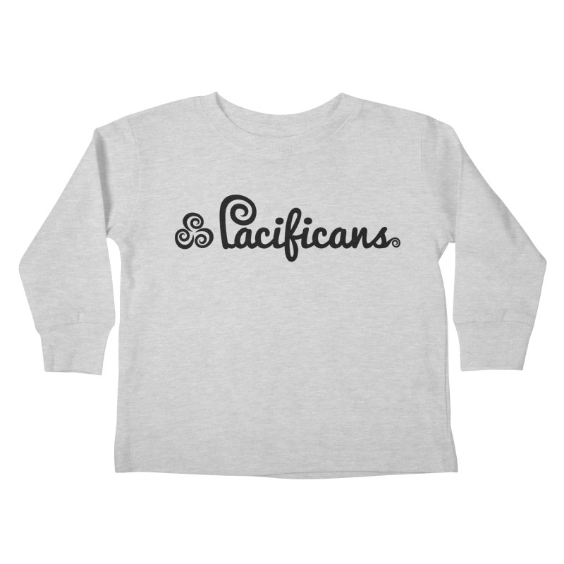 Pacificans logo Kids Toddler Longsleeve T-Shirt by Pacificans' Artist Shop