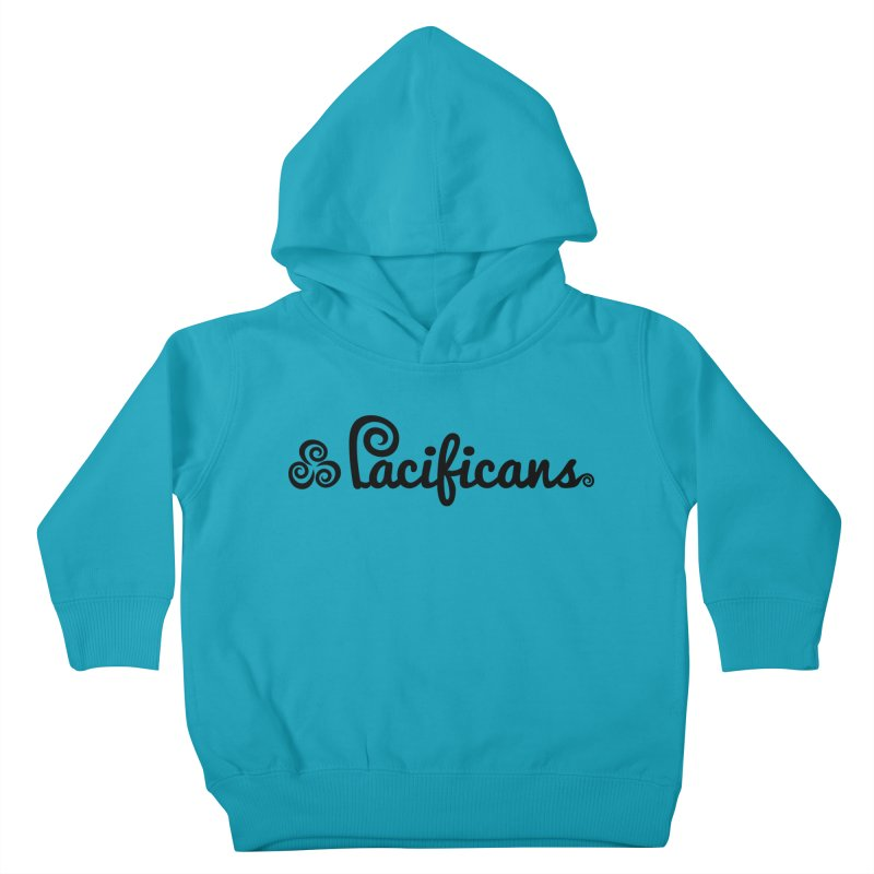 Pacificans logo Kids Toddler Pullover Hoody by Pacificans' Artist Shop