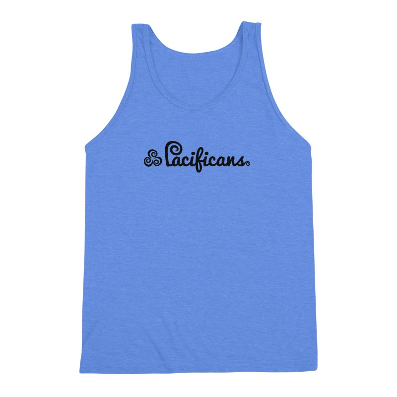 Pacificans logo Men's Triblend Tank by Pacificans' Artist Shop