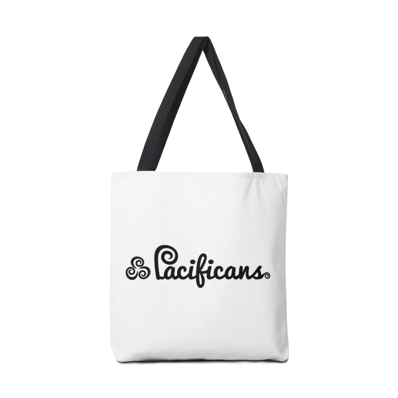 Pacificans logo Accessories Bag by Pacificans' Artist Shop