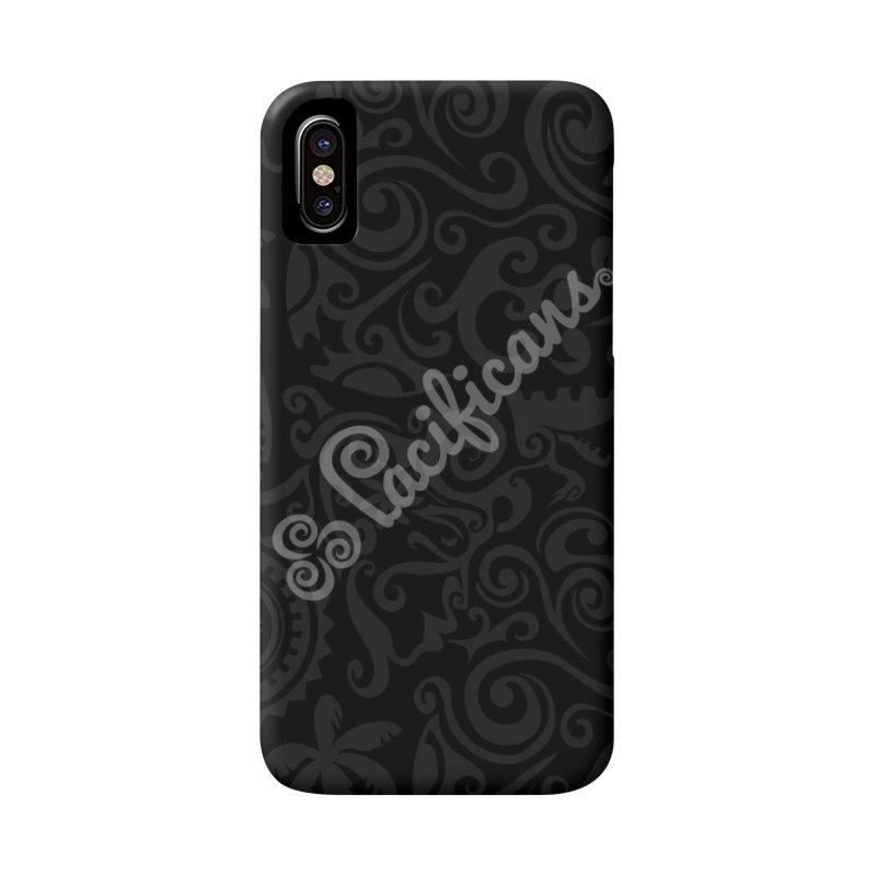 Pacificans logo+print BK Accessories Phone Case by Pacificans' Artist Shop