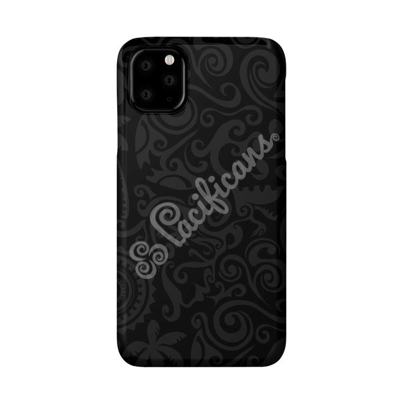 Pacificans logo+print BK Accessories Phone Case by Pacificans' Artist Shop