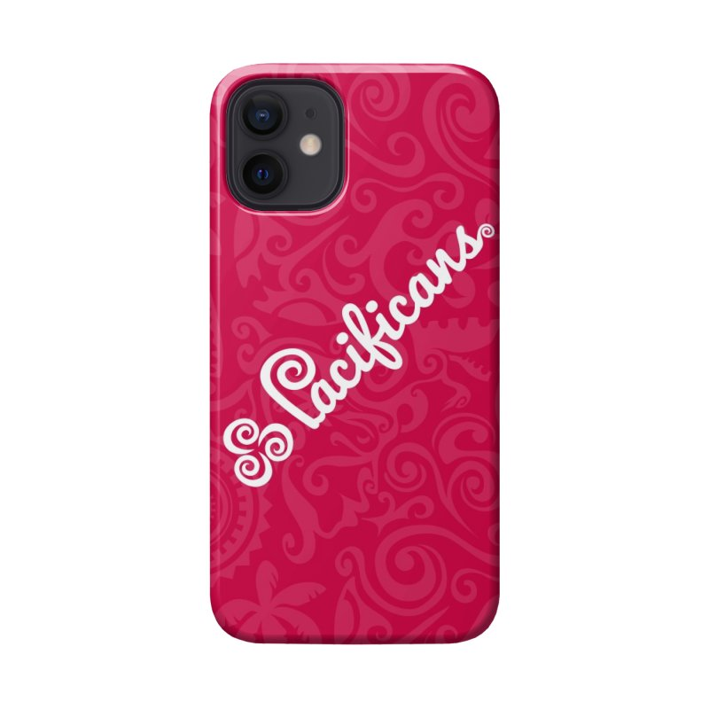 Pacificans logo+print RED Accessories Phone Case by Pacificans' Artist Shop