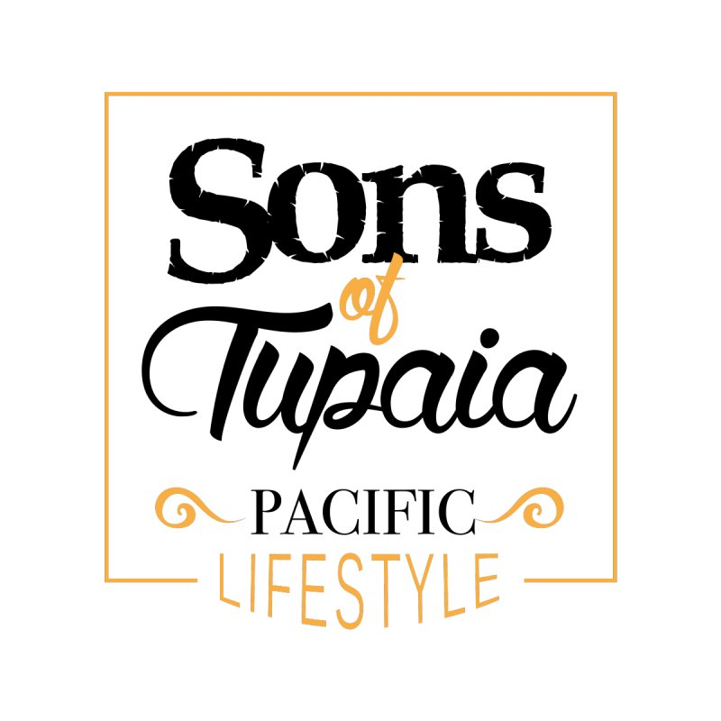 Sons of Tupaia Kids T-Shirt by Pacificans' Artist Shop