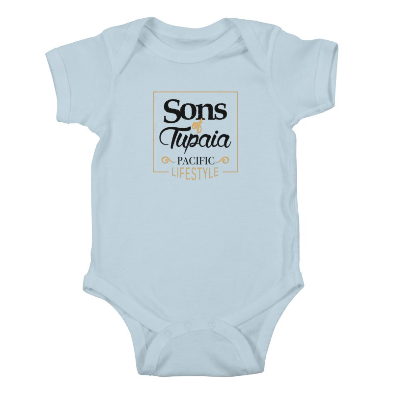Sons of Tupaia Kids Baby Bodysuit by Pacificans' Artist Shop