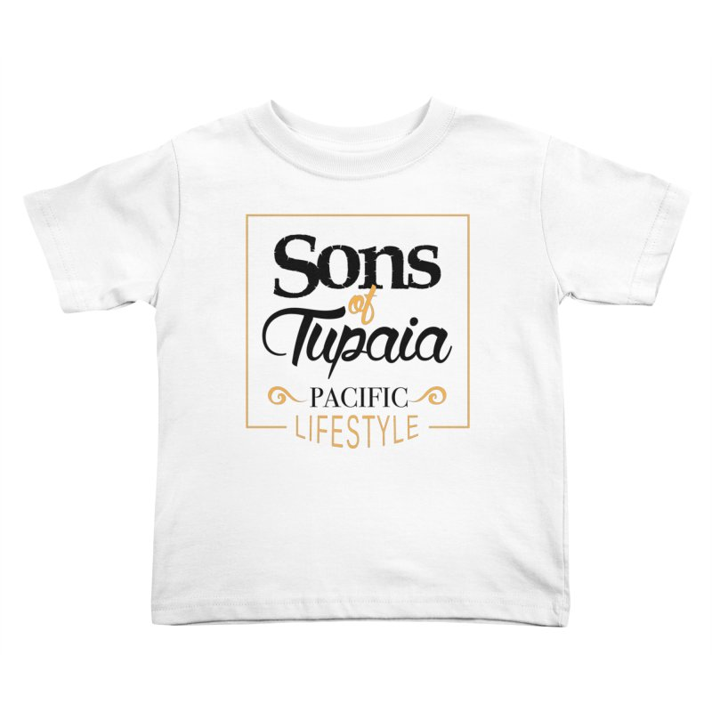 Sons of Tupaia Kids Toddler T-Shirt by Pacificans' Artist Shop