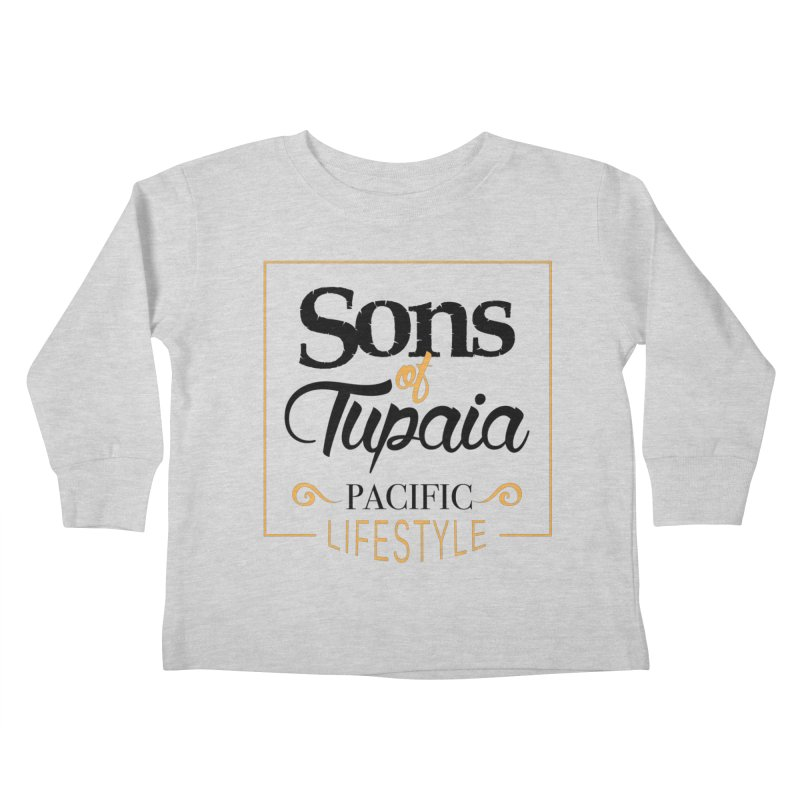 Sons of Tupaia Kids Toddler Longsleeve T-Shirt by Pacificans' Artist Shop
